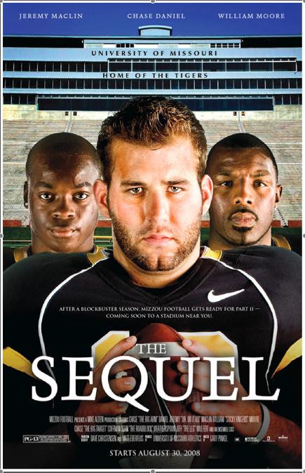 Missouri Tigers Sequel Poster